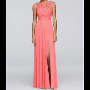 David's Bridal, Beloved Dress, Bridesmaid, Parfait